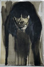 Marta Trava, original sketch