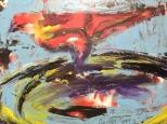 El Pitirre - Oil on canvas - 10x12