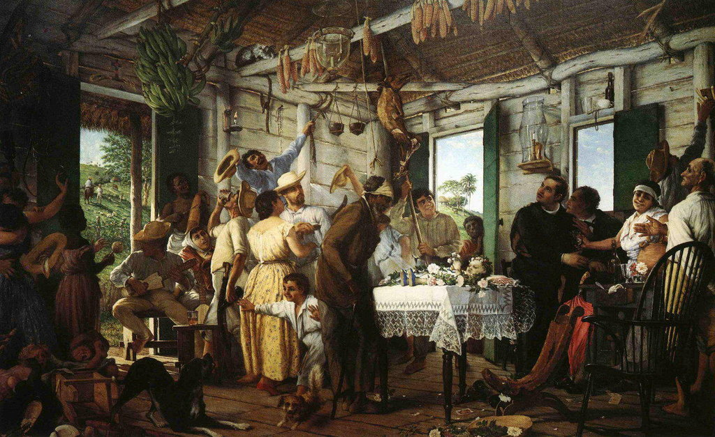the iconic painting called velorio by francisco oller 1 3 puerto